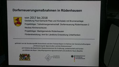 Schild DE Kirchplatz