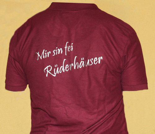 T - Shirt rot R?cken