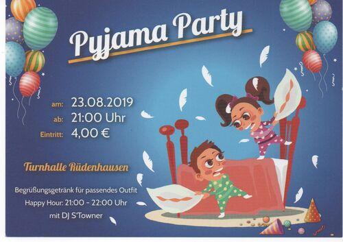 Pyjamaparty 2019